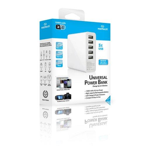 NazTech PB10400 10400mAh Power Bank