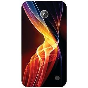 Nokia Lumia 630 Back Cover - Zig Zag Designer Cases