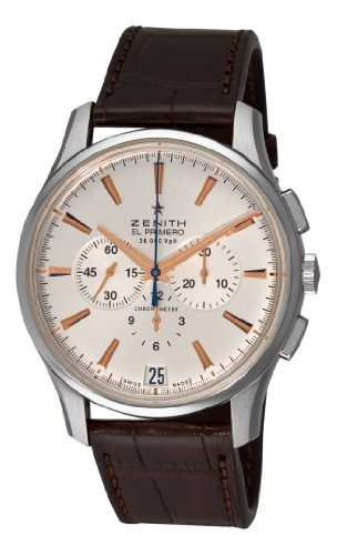 zenith-mens-032110400-01c498-el-primero-36000-vph-silver-sunray-chronograph-dial-watch