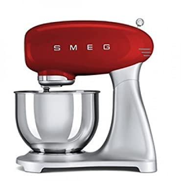 SMEG 5-Quart Stand Mixer (Red)