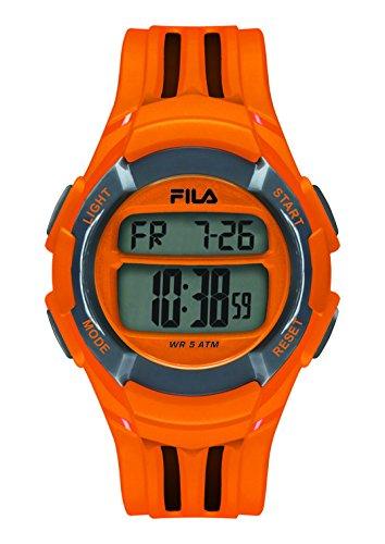 Fila-Bracciale unisex orologio digitale al quarzo 38-048-101fila Casual Arancione in plastica