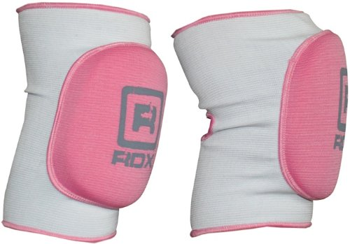 Authentic RDX Knee Cap Pad Protecter Foot Brace Support Guard MMA Pink Ladies Sports UFC, Small, Medium, Large, XLarge