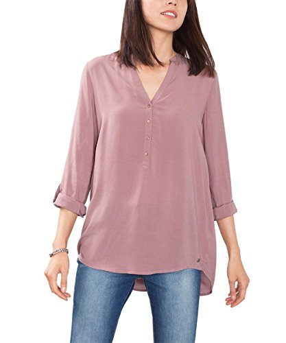 ESPRIT 086EE1F032, Camicia Donna, Rosa (Dark Old Pink), M