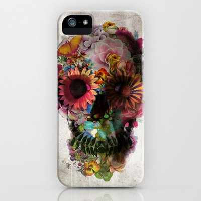 Society6/ソサエティシックス iphone5/5Sケース ドクロ スカル SKULL 2