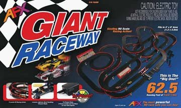 Giant Raceway Set Mega G Chassis/Tri-Power Pack (Afx Slot Car Race Track Sets compare prices)