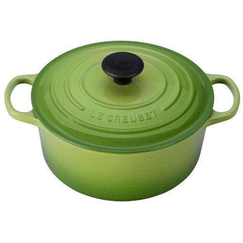 Le Creuset 4.5qt signature round French oven, Palm (Le Creuset Small Dutch Oven compare prices)