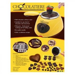 Chocolatiere Electric Chocolate Maker Melting Pot