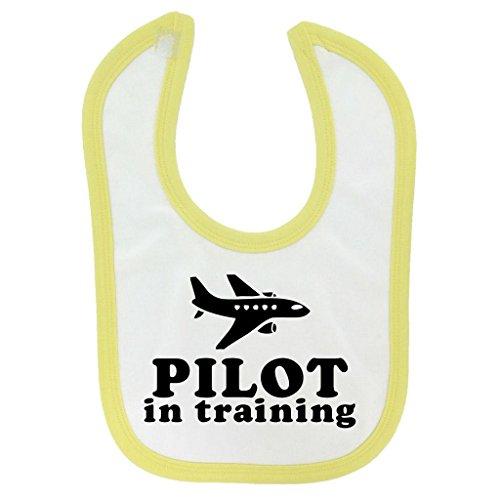 pilot-in-training-design-baby-bib-with-yellow-contrast-trim-black-print