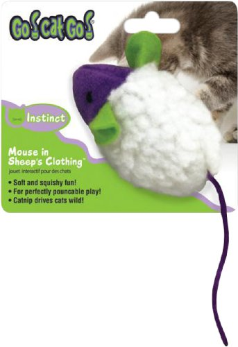 41VhCLXC9uL Go Cat Go Cat Toy, Mouse in Sheeps Clothing