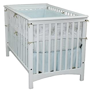 Child Craft London Euro Style Stationary Crib, Matte White
