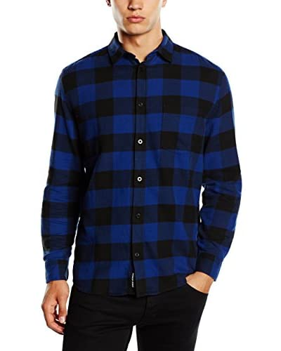 Cheap Monday Hemd Neo Flannel nachtblau/blau