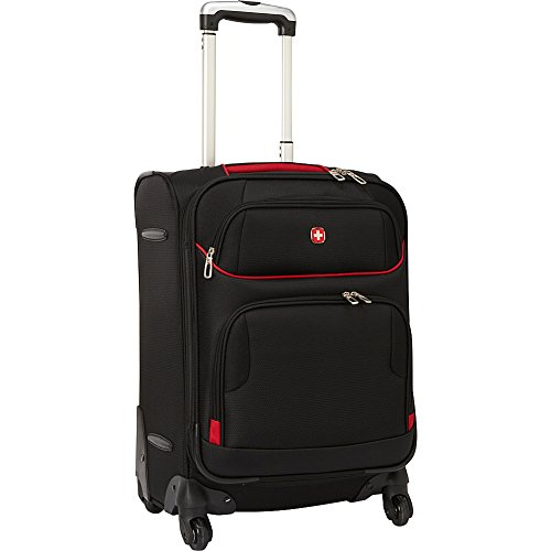 Swissgear Travel Gear 20 Exp Spinner Upright Black With
