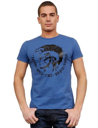 Diesel T-morrow 87t Flare Blue Man T-shirts Make Men - M