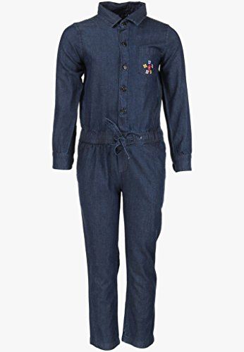 Cool Quotient Girl's Jumpsuits [CQGW15I15_Blue Stone_2-3 Years]