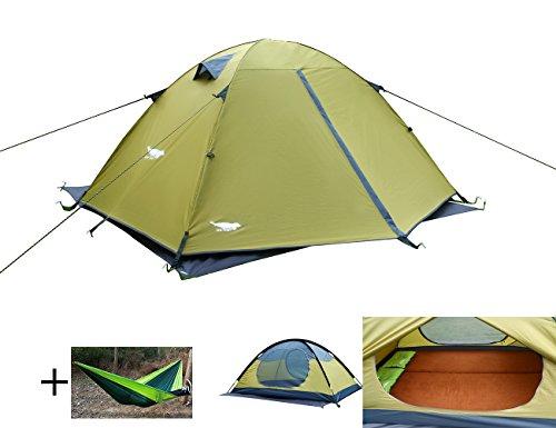 Luxe Tempo Enhanced 2 Person Tents For Camping 3 4 Season