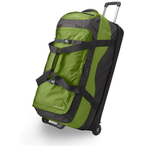 Eddie Bauer Expedition Extra Large Rolling Duffel Bag Green ONESZE Review Click To Buy Best Price From Amazon Product Feature 210 Denier Double Ripstop