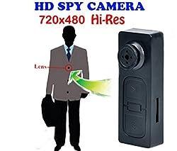 ZVision Spy Pinhole HD Mini Button Camera Hidden Camcorder Digital Video 30FPS Recorder