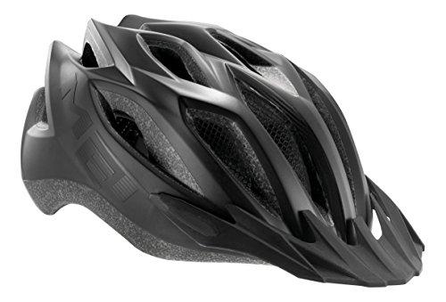 MET 3HELM88XLNX_Black_60-64 cm - Casco da ciclismo Unisex, taglia unica, colore: Nero nero