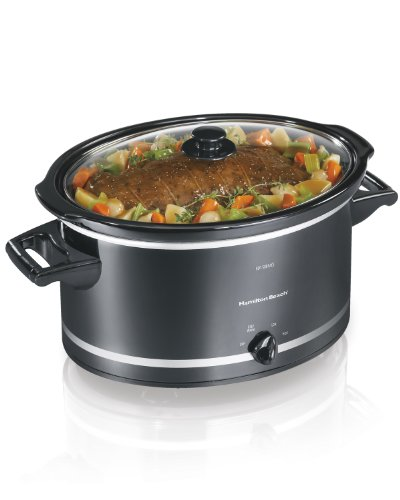 Hamilton Beach 33182A Slow Cooker, 8-Quart (8 Quart Programmable Slow Cooker compare prices)