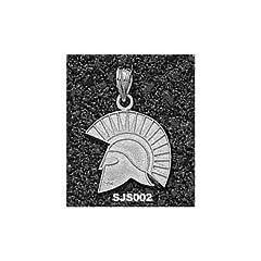San Jose State Spartan Head - 14K Gold by Logo Art