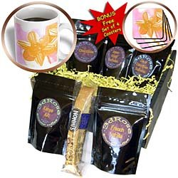 PS Flowers - Peach Daffodil - Flowers - Floral Art - Coffee Gift Baskets - Coffee Gift Basket