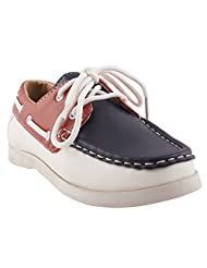 Doink Navy/Red Boys Shoes -dk_AOM220A-NavyRed-31