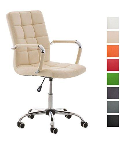 CLP-bequemer-Brostuhl-DELI-V2-mit-sehr-hochwertiger-Polsterung-Sitzhhe-45-54-cm-aus-bis-zu-8-Polsterfarben-whlen-creme