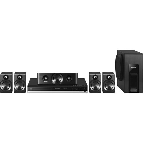 Panasonic 5.1 Channel 600W (Rms) Smart Network 3D Blu-Ray Disc Home Theater System, Features 6 Low Profile Speaker System And Powerful Subwoofer For Natural Acoustic Expansion And Dynamic Bass, Built-In Bluetooth Wireless Technology, All New Nfc-One Touch