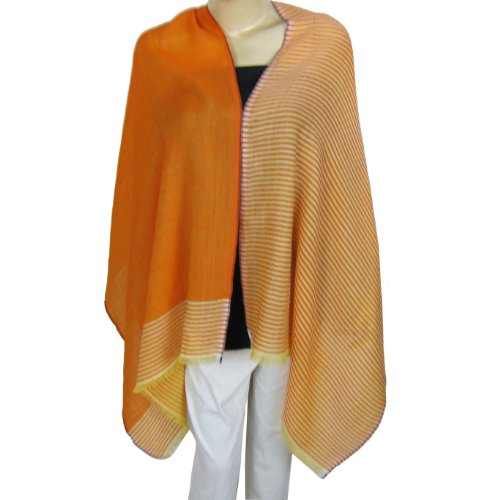 Wool Scarf Clothing Accessory India Styles 55.88 Cm x 182.88 Cm