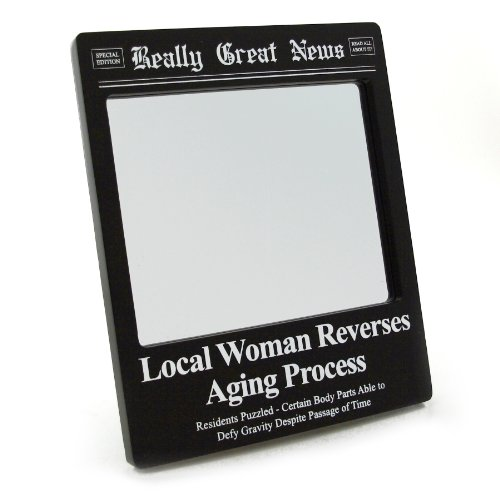 Enesco Really Great News - Aging Process Mirror