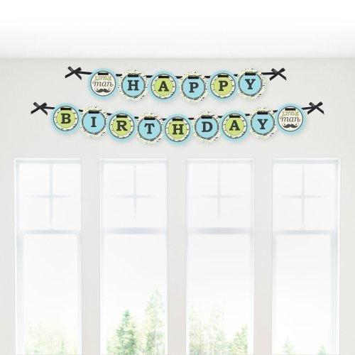 mustache birthday party banners birthday wikii