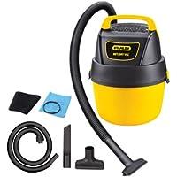 Stanley 1-Gallon 1.5 Peak Portable Poly Horsepower Wet Dry Vacuum Cleaner