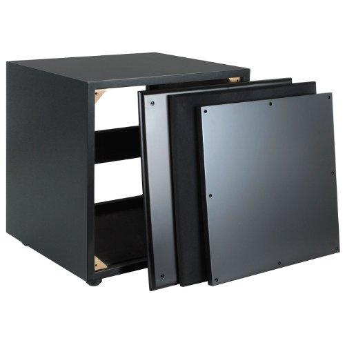 Dayton Audio SWC1-VI 1.0 ft� Subwoofer Cabinet Black Vinyl at Sears.com
