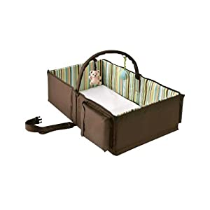 Eddie Bauer Infant Travel Bed The On The Go Sleep And Play