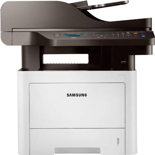 Samsung Xpress M3875FW/SEE Monolaser-Multifunktionsgerät (Drucken, Scannen, Kopieren, Faxen, 1.200 x 1.200 dpi, 256 MB Speicher, 600 MHz Prozessor)