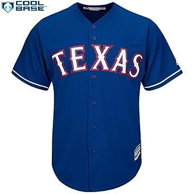 Texas Rangers MLB Men's Cool Base Alternate Team Jersey Blue