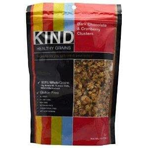 Cluster, Dark Chocolate & Cranberry 11 oz. (Pack of 6) : Nut Cluster ...