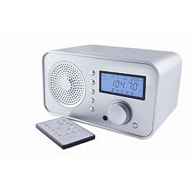 Eton Sound 100 AM/FM Radio,  Silver