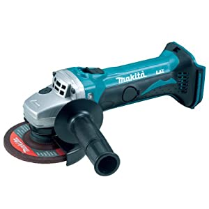 Makita BGA452Z 18-Volt LXT Lithium-Ion Cordless 4-1/2-Inch Cut-Off/Angle Grinder (Tool Only, No Battery)