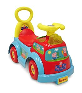 Amazon.com: Peppa Pig Light and Sound Ride-On.: Toys & Games