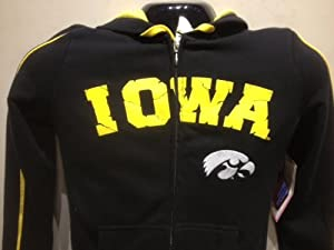 Iowa Hawkeyes Ladies School Hooded Black