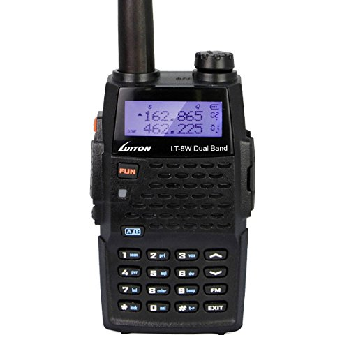 Best Price! LUITON LT-8W Dual Band 2-Way Ham Radio: VHF136-174MHz UHF400-520MHz, High Power 7Watts T...