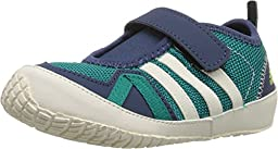 Adidas Sport Performance Kid\'s Boat Plus AC Running Sneakers, Green Textile, 6.5 Toddler M