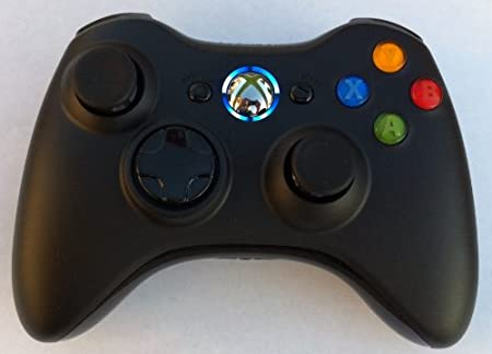 17 Mode Drop Shot, Quick Scope, Auto Aim, Dual Rapid Fire, Reprogrammable Xbox 360 Modded Rapid Fire Controller Mw3 Black Ops Mw 2 with Blue Led