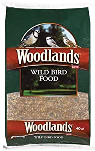 Kaytee Products 100034122 Woodland Wild Bird Food, 40-Lbs. - Quantity 50