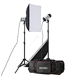 Godox 250sdi 250 Watts Photography Monolight Kit, Two 250sdi Monolight
