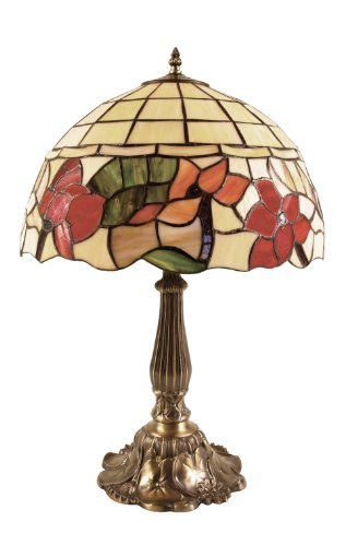 Border Tiffany Table Lamp
