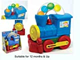 Toddlers Push Along Ball Blowing Loco Train/ Brand New