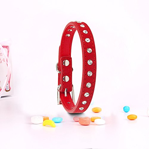 Pets-House-Dog-Collars-for-Small-Dogs-Prime-Medium-Red