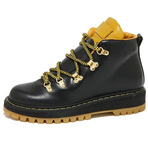 0955O tronchetto CAR SHOE nero stivaletti trakking donna boots women [38.5]